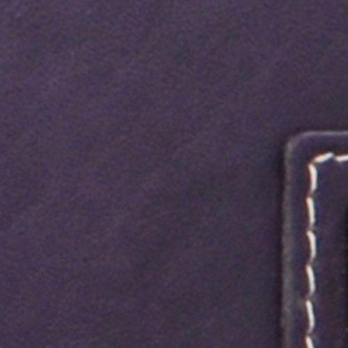 Borsellino in pelle Catwalk Collection - Gemma - scatola regalo - Viola