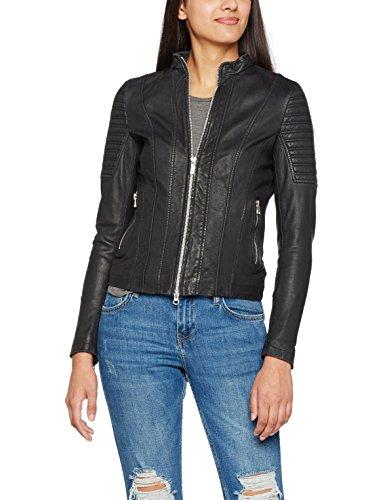 Goosecraft Jacket172, Blouson Femme Schwarz (Black)