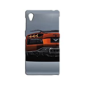 BLUEDIO Designer 3D Printed Back case cover for Sony Xperia Z1 - G1018
