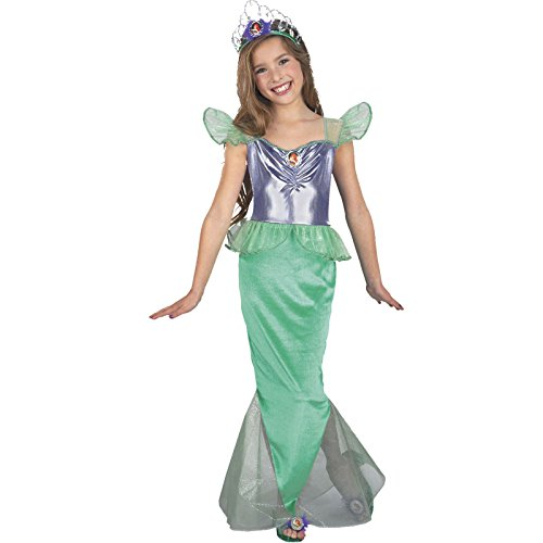 rau Ariel Disney Kind Standard Kostüm (Ariel Kleine Meerjungfrau Halloween-kostüm)