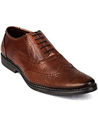 Vardhra Men 100% Genuine Leather Lace Up Formal Shoes