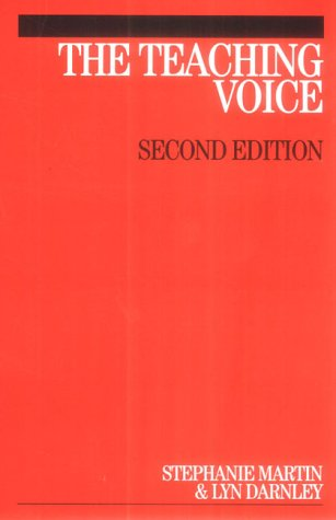 The Teaching Voice second edition
