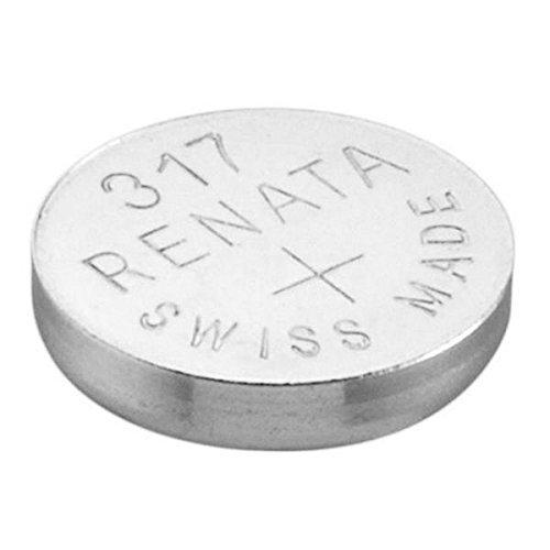 1 x Renata 317 reloj batería Suizo hizo plata óxido 1,5 v (SR516SW