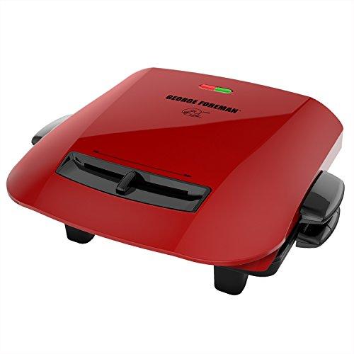 Applica GRP2841R Gitter-Kontakt Tisch Elektro rot Grill und Steakpfanne
