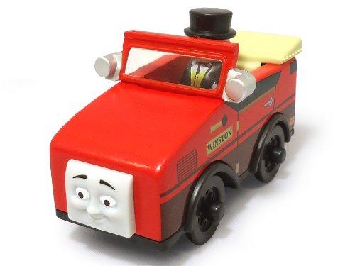Mattel Fisher-Price Y4085 - Thomas und seine Freunde Holzlokomotive Winston, klein