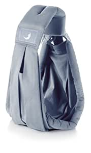 Babasling Original 100% Cotton Baby Carrier, Dolphin Grey Color: Dolphin Grey Infant, Baby, Child