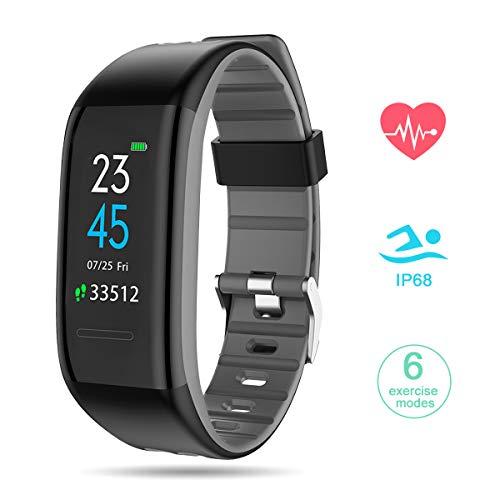 GOKOO Pulsera Actividad con Podómetros Smartwatch Inteligente con...