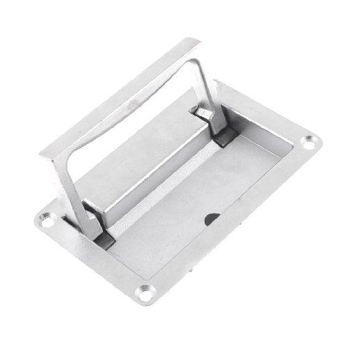 Silver Tone Metall verzinkt Tool Box Chest Drehhilfe (Ton-tool-box)