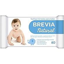 Brevia - Toallitas húmedas para bebé - Natural