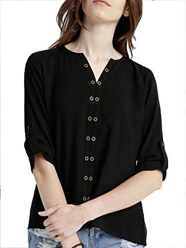 Leriya-Fashion-Women-Tunic-Short-Top-For-Jeans-Plain-Diamond-Georgette-Top-For-Daily-wear-Stylish-Casual-and-Western-Wear-Women-Girls-Top