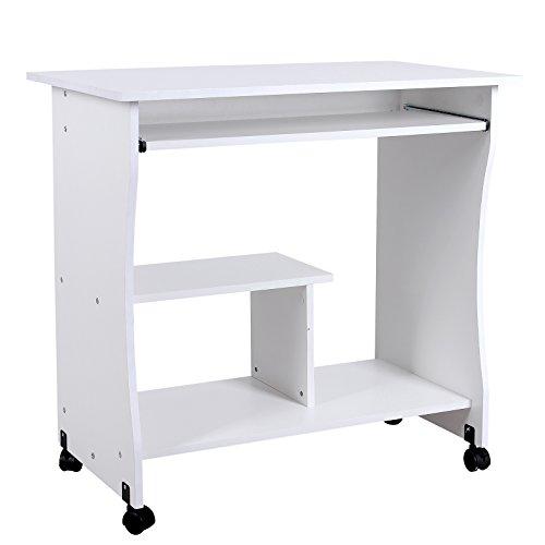 Las 20 mejores mesas de ordenador comodidad garantizada for Mesa de ordenador con ruedas