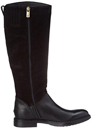 Tommy Hilfiger Ladies H1285olly 18c Stivali Nero (nero)