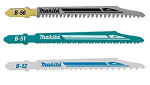 Makita B-06292 Wood and Metal Jigsaw Blades Kit (3-Piece)