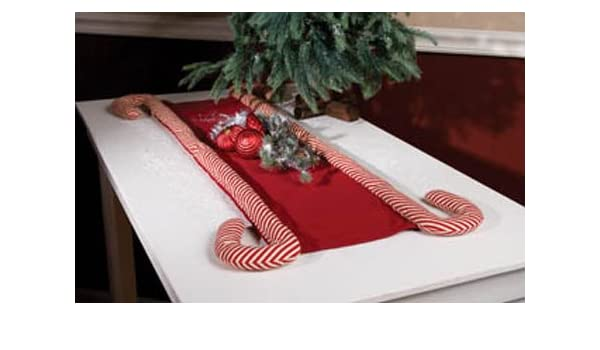 Ohio Wholesale Peppermint Candy Cane Table Runner 36 Amazon Co