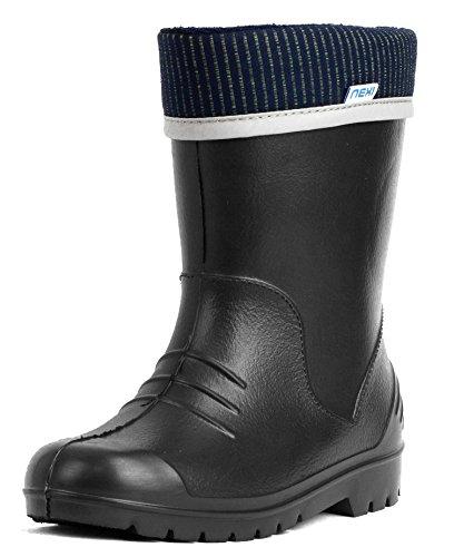 nexi-botas-de-material-sintetico-para-nino-azul-azul-one-size-color-negro-talla-26-27