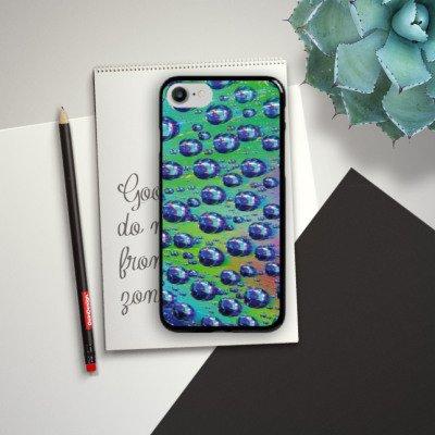 Apple iPhone X Silikon Hülle Case Schutzhülle Tropfen Licht Wasser Hard Case schwarz
