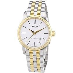 MIDO Baroncelli Ii M76009761 - Reloj de mujer automático, correa de acero inoxidable color varios colores