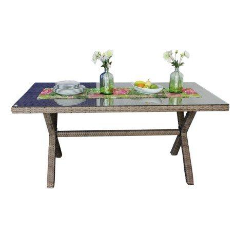 Gartentisch, Maße ca. 160x90cm, wetterfest