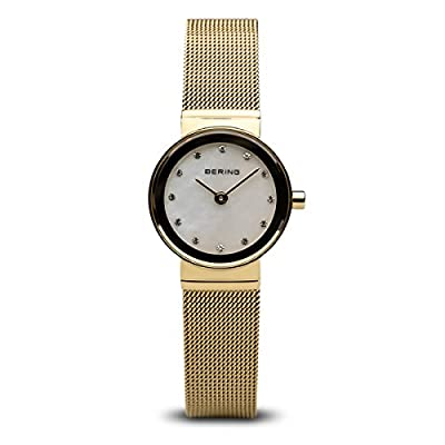 BERING Reloj Analógico para Mujer de Cuarzo con Correa en Acero Inoxidable 10122-334 de BERING