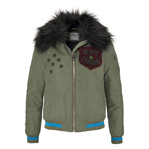 Replay Damen Bomberjacke grün (L)