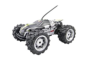 RC Remote Control Car Buggy Truggy for Kids - Racing RC Truggy with Off Road Tyres - 1/18 Scale Fun Turbo Speed Electric Remote Control Buggy - RTR