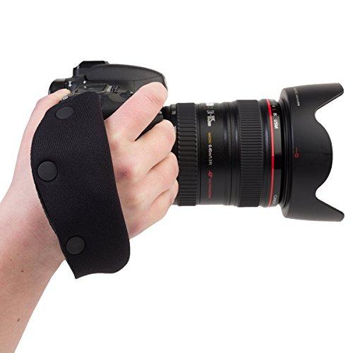 OP/TECH E-Z Grip Hand-Gurt Schwarz -