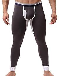 iLoveSIA Leggings Pantalon de compression thermique - Homme /garçon