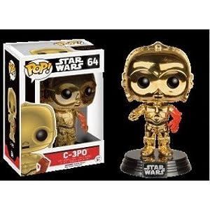 Funko Pop C-3PO metálico – Ed. Limitada (Star Wars 64) Funko Pop Star Wars