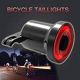 BEN-YI XLite100 Wasserdichte Fahrrad LED USB Sense Rücklicht Smart Bremsleuchte