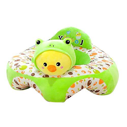 Sofá de peluche para bebé, asiento de bebé con dibujos animados, sofá extraíble, lavable, asiento...
