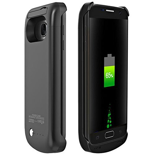 Portable Backup Battery ChargerSamsung Galaxy S7 Battery Case [4200 mAh] High Capacity External Battery Charger for the Galaxy S7 (black-Samsung Galaxy S7)
