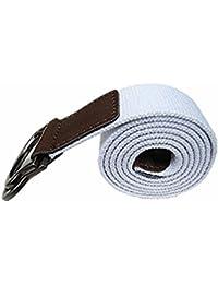 SAMGU Mode hommes Boucle ceinture main taille toile de ceinture en cuir