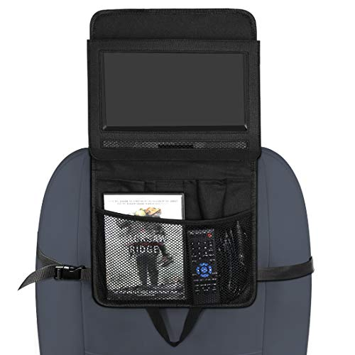 NAVISKAUTO 10-10,5 Zoll Auto KFZ Kopfstützenhalterung Kopfstütze Halterung Auto Organizer für Tragbarer DVD Player Spieler Kopfstützenmonitor PA2007B