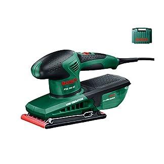 Bosch PSS 200 AC Lijadora orbital 200W negro, verde – Amoladoras de banda (lijadora orbital, amoladora manual, negro, verde, bolsa, rectangular, EN 60745)