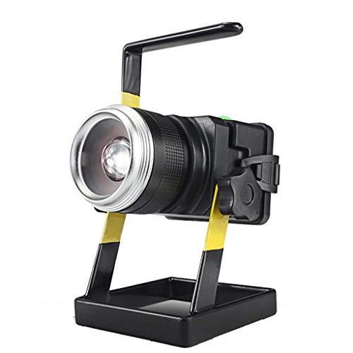 LED Work Light T6 Zoom Portable Flood Light,IP65 Wasserdichtes Scheinlicht für Wandern, Autokarzierung, Werkstatt, Garage - Led Zoom Light