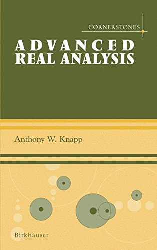Advanced Real Analysis: With a Companion Volume 'Basic Real Analysis' (Cornerstones)