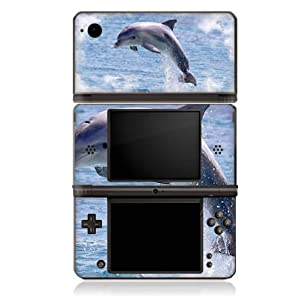 Skin kompatibel mit Nintendo DSi XL Folie Sticker Delfine Meer Wal