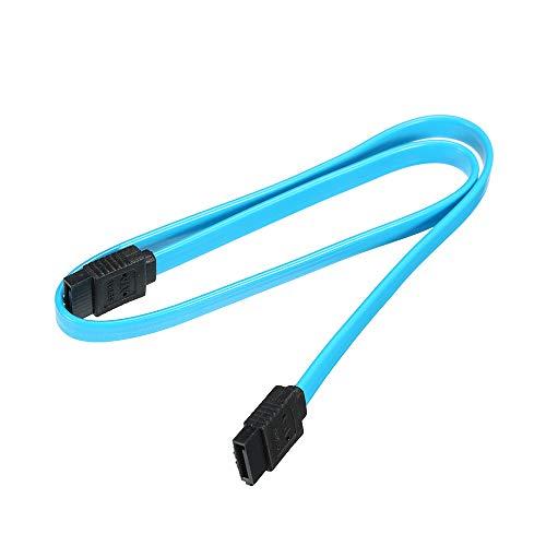 Festnight SATA III-Kabel mit Verriegelung für HDD-SSD 6 Gbit/s blau 16g Ssd