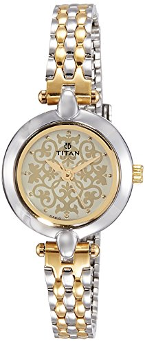 418Sk4zVG1L - Titan 2521BM02 Multi Colour Women watch