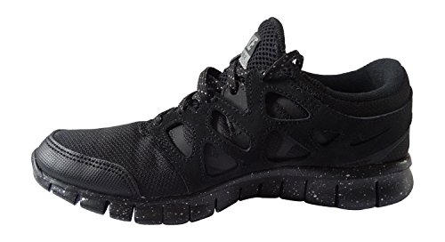 Nike Free Run 2 Prm, Chaussures de Running Entrainement Homme, Noir (Schwarz), 42 EU Noir / gris (noir / noir - étain métallique)