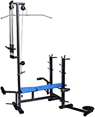 BODYFIT 20 IN 1 Bench For Muscle Building Workout and Strong Muscles