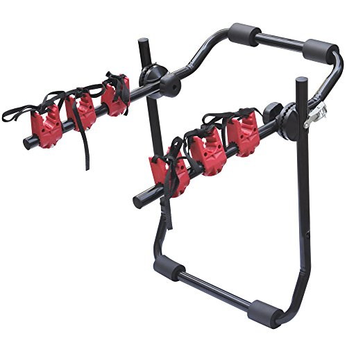 Car Bicycle Carrier Rack,Universal Rear Mounted (3 Bicycle Set)