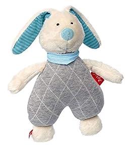 Sigikid 39041Mint, de Peluche-Peluche de Peluche para bebé Conejo de Juguete, Urban Baby Edition, Color Azul
