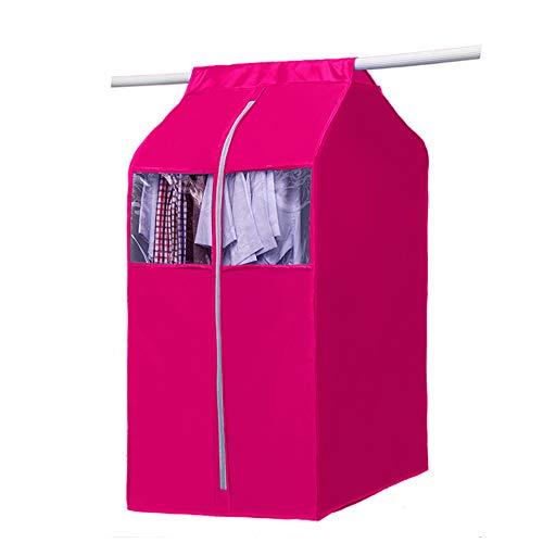 JYW-Covers Oxford-Tuch Groß Dreidimensional Kleiderschutz Staubschutz Abdecken,Pink,50 * 60 * 112Cm