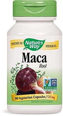 Maca Root, 525 mg, 100 Capsules - Nature's Way from Nature's Way