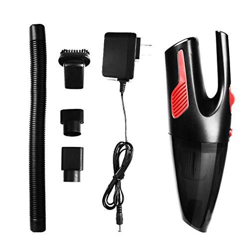 Licy Aspirapolvere Car Home Power 120w Palmare Ricaricabile a Secco e Bagnato Dual 220V Pulizia Wireless Durata duratura Ricarica Rapida (Colore : Bianca)