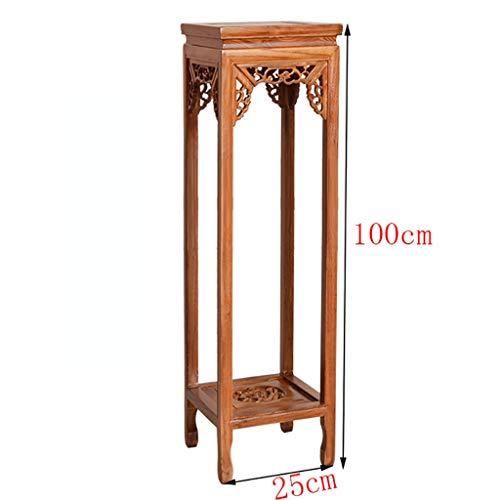 Jiaz Möbel/Regal/Lagerung Regal Indoor Wohnzimmer Balkon Massivholz Blumenregal Multilayer Ganze Topflappen,20CM * 100CM -