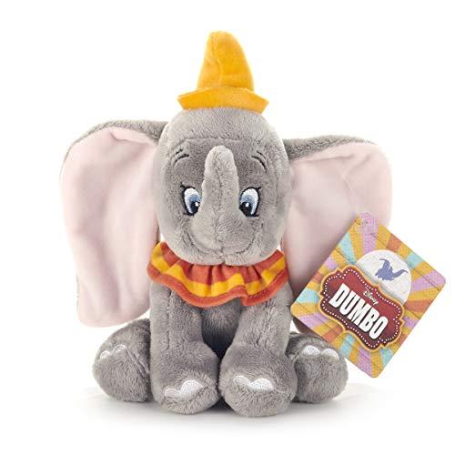 Disney 37275Dumbo l' Elefante Morbido toy-18cm, Grigio