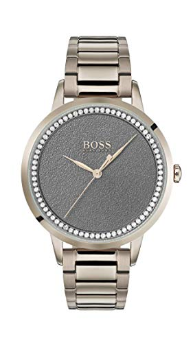 Hugo Boss Womens Analogue Classic Quartz Watch with Stainless Steel Strap 1502463
