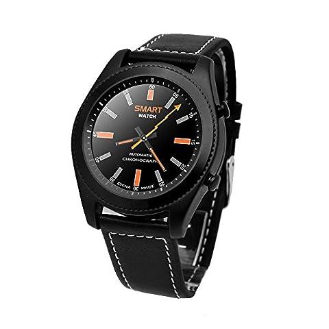 Docooler NO.1 S9 NFC Bracelet de Sport Rythme Cardiaque Smart BT Watch Suivi de la Santé Bracelet Notification d
